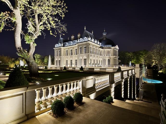 Association des concepteurs lumi res et clairagistes for Chateau louis 14 louveciennes