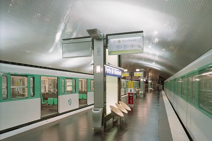 Lighting design aartill - Subway porte de montreuil ...